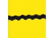 "5 Yds  3/8""   Black Chenille Poof Braid Trim   3516"