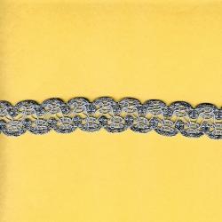 "5 Yds   1""    Blue  Gimp Braid  3605"