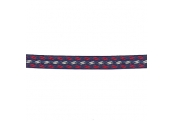 "5 Yds  1/2""  Navy/Red/White Braid   3811"