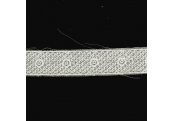 "5 Yds    1""    White Embroidery Venice Trim  2374"