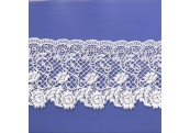 "5 Yds  4 1/2""   White Venice Lace  4580"