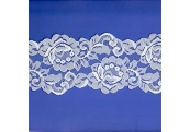 "5 Yds   4""  White  Lace 4016"