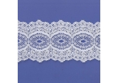 "5 Yds  3 1/2""  White Beading Lace  4534"