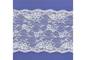 "5 Yds  5 1/2""   White Lace  4881"