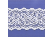 "5 Yds   5 1/4""   White Textured  Lace  4982"