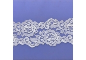 "5 Yds  3 3/4""  White Scalloped Lace 4016"