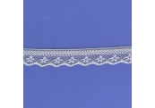 """100 Yds  3/4""""  White Lace    4396"""