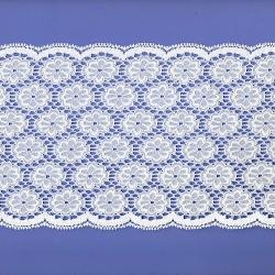 """50 Yds 5 3/4""""  White Nylon Lace  4752"""
