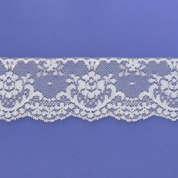 "100 Yds  2 3/8""   Cream Lace   4966"